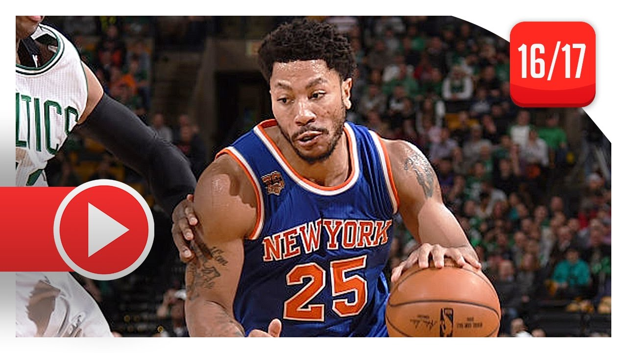 e9fc7572a5ed Derrick Rose Full Highlights vs Celtics (2017.01.18) - 30 Pts