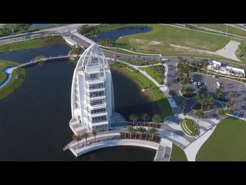 Exploration Tower And The Cove By Drone Mile High Tour Over - Cape canaveral tours