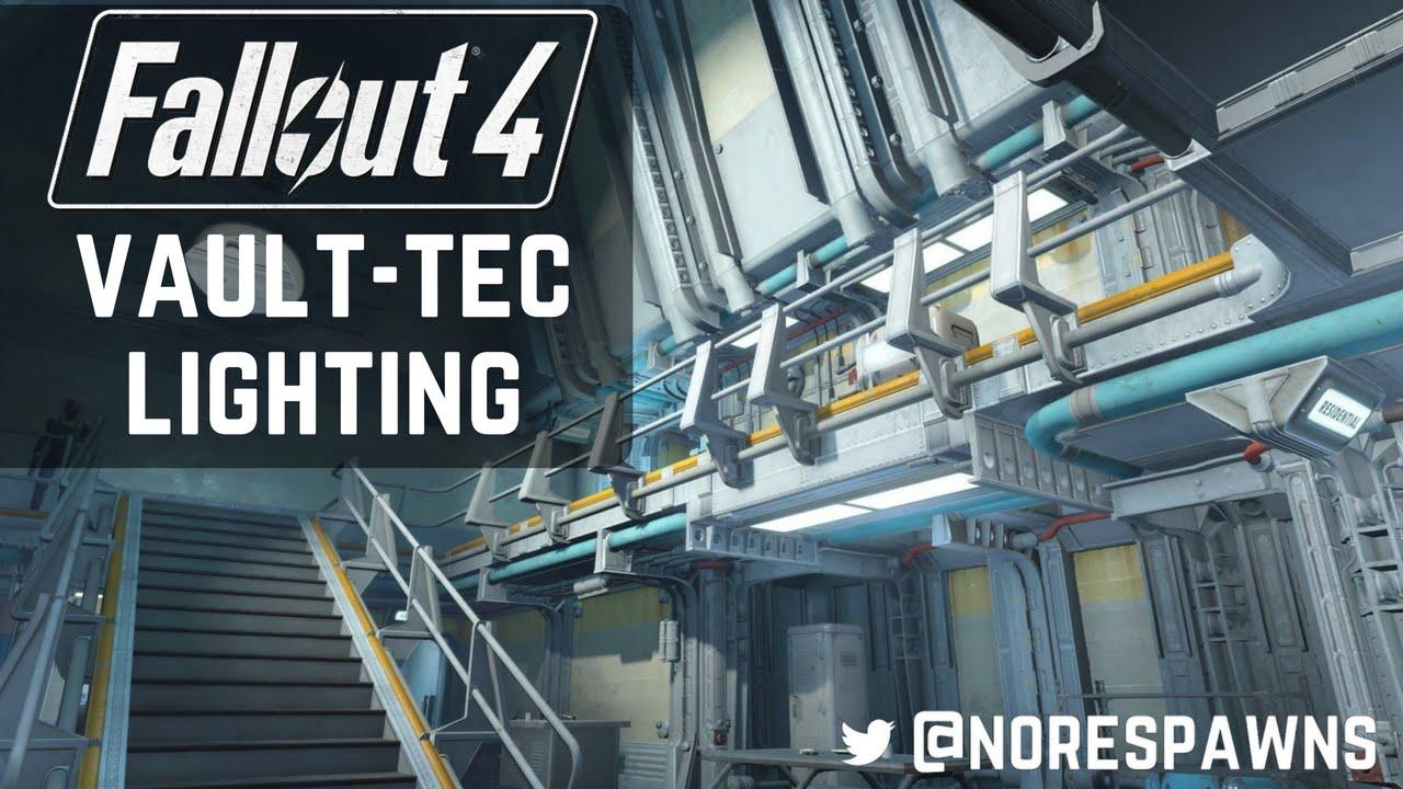 fallout 4 vault tec workshop lighting