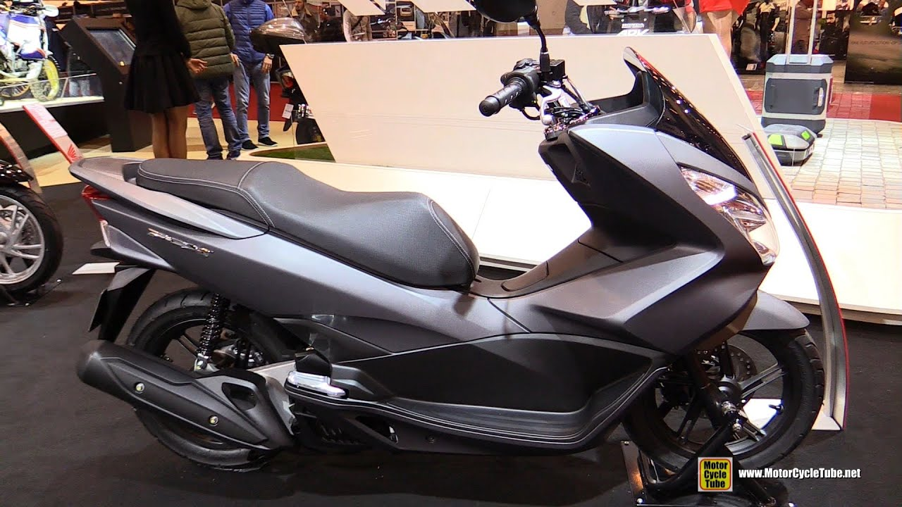 2016 honda pcx 125 walkaround 2015 salon de la moto paris youtube. Black Bedroom Furniture Sets. Home Design Ideas