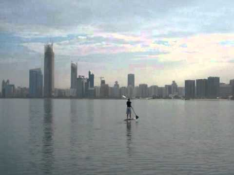 Abu Dhabi SUP Corniche with Dolphins