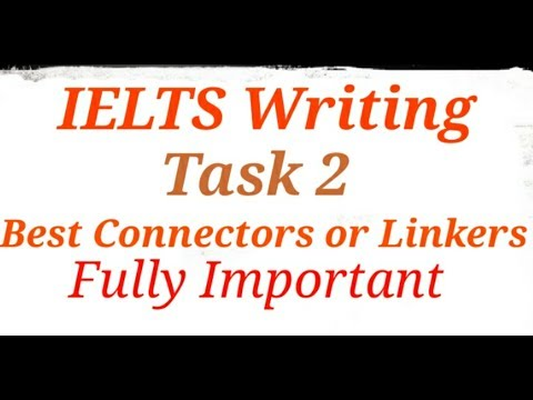 IELTS Writing Task 2 Connectors