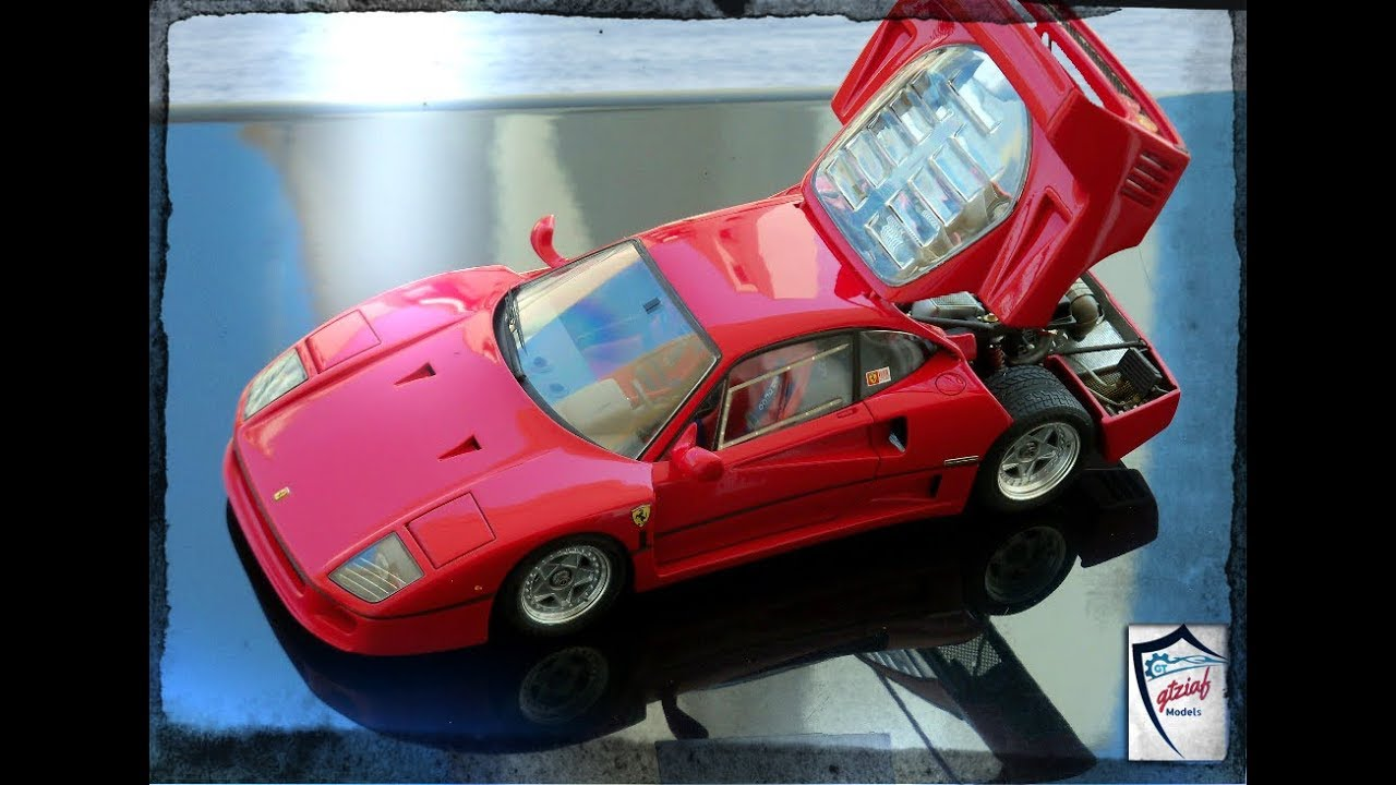 Ferrari F40 Tamiya 1 24 Youtube