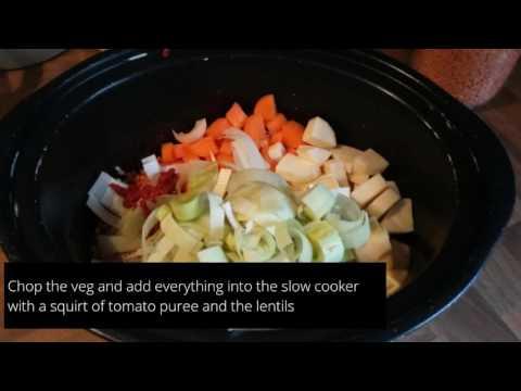 Slimming World Slow Cooker Winter Vegetable Soup