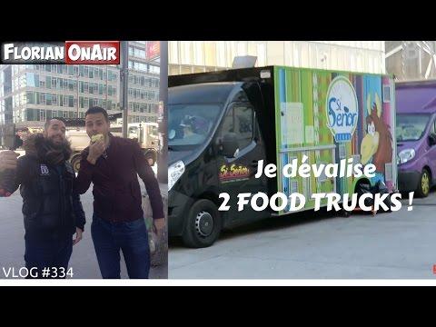 Je dévalise 2 FOOD TRUCKS - VLOG #334