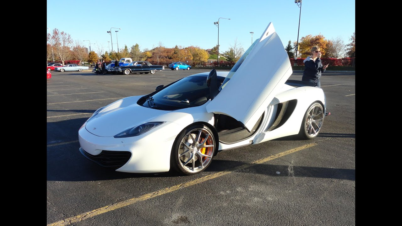 2013 McLaren MP4-12C Spider / Spyder Convertible on My Car Story ...