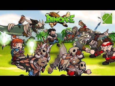 Caveman And Dinosaurs : Dinoage prehistoric caveman dinosaur strategy android gameplay