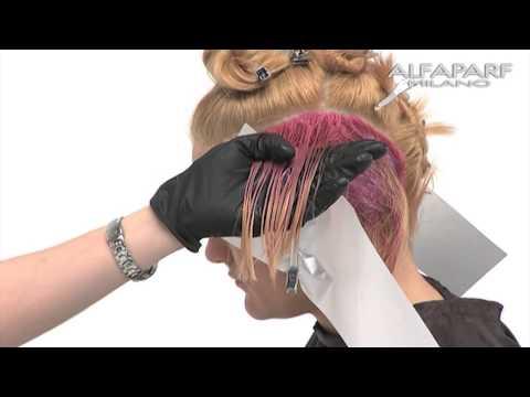 Alfaparf Milano USA - Evolution of the Color³ Creative Color Series: Shadow Technique