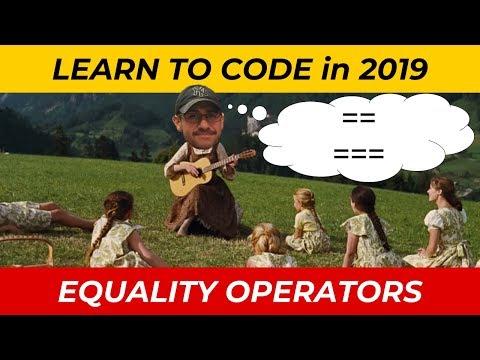 JavaScript Tutorial: Equality Operators thumbnail