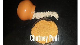 Chutney powder Chutney pudi Side dish recipe kannada recipe