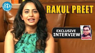 Rakul Preet Exclusive Interview || Talking Movies With iDream #72