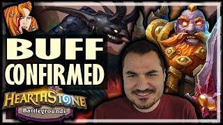 JUGGLER BUFFED? CONFIRMED! - Hearthstone Battlegrounds