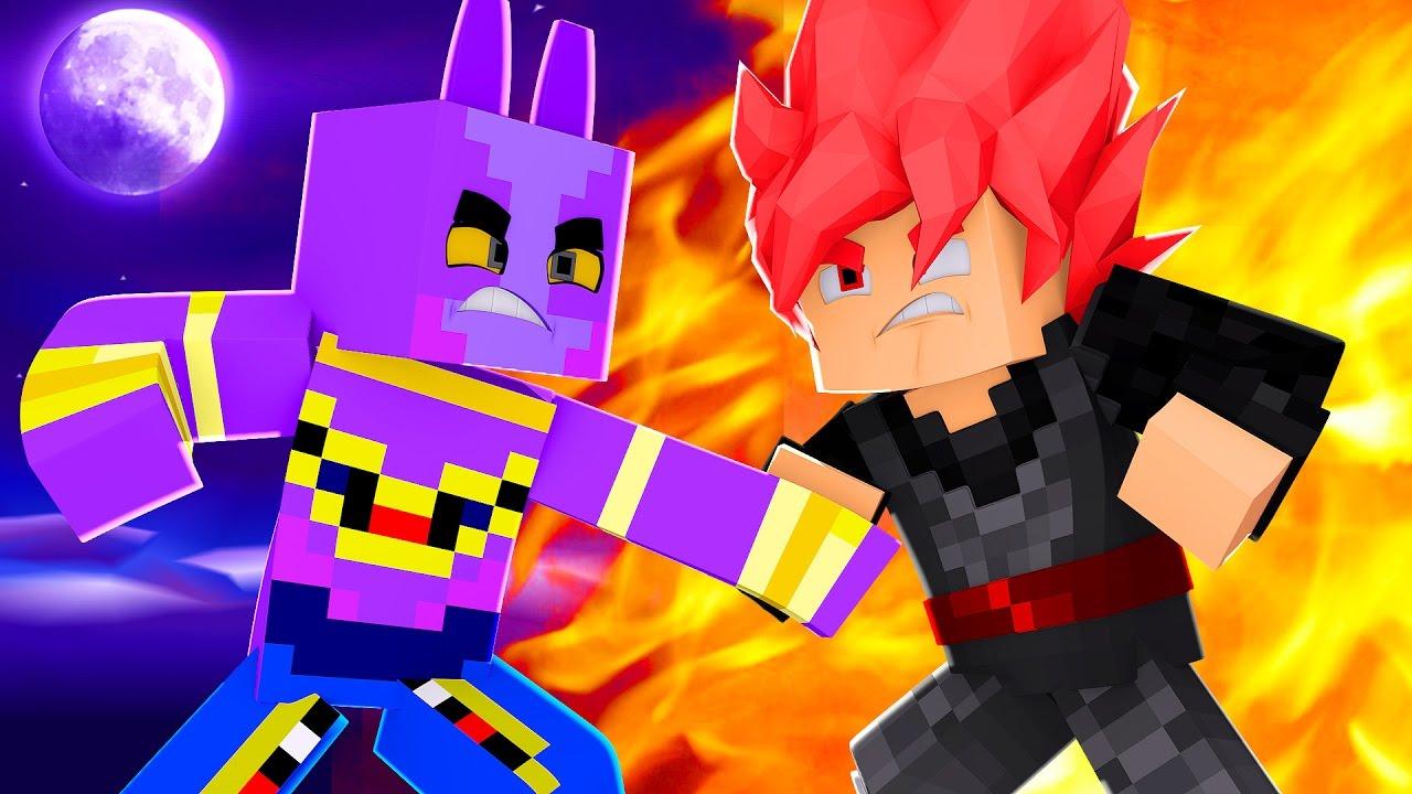 Goku Ssj Wallpaper Hd Minecraft Dragon Block C Sayajin Deus Ine Youtube