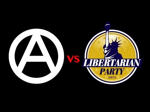 Anarchism vs. Right Libertarianism