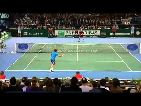 Federer Vs Monaco Paris 2011 Best Points