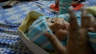 Baby funny voice