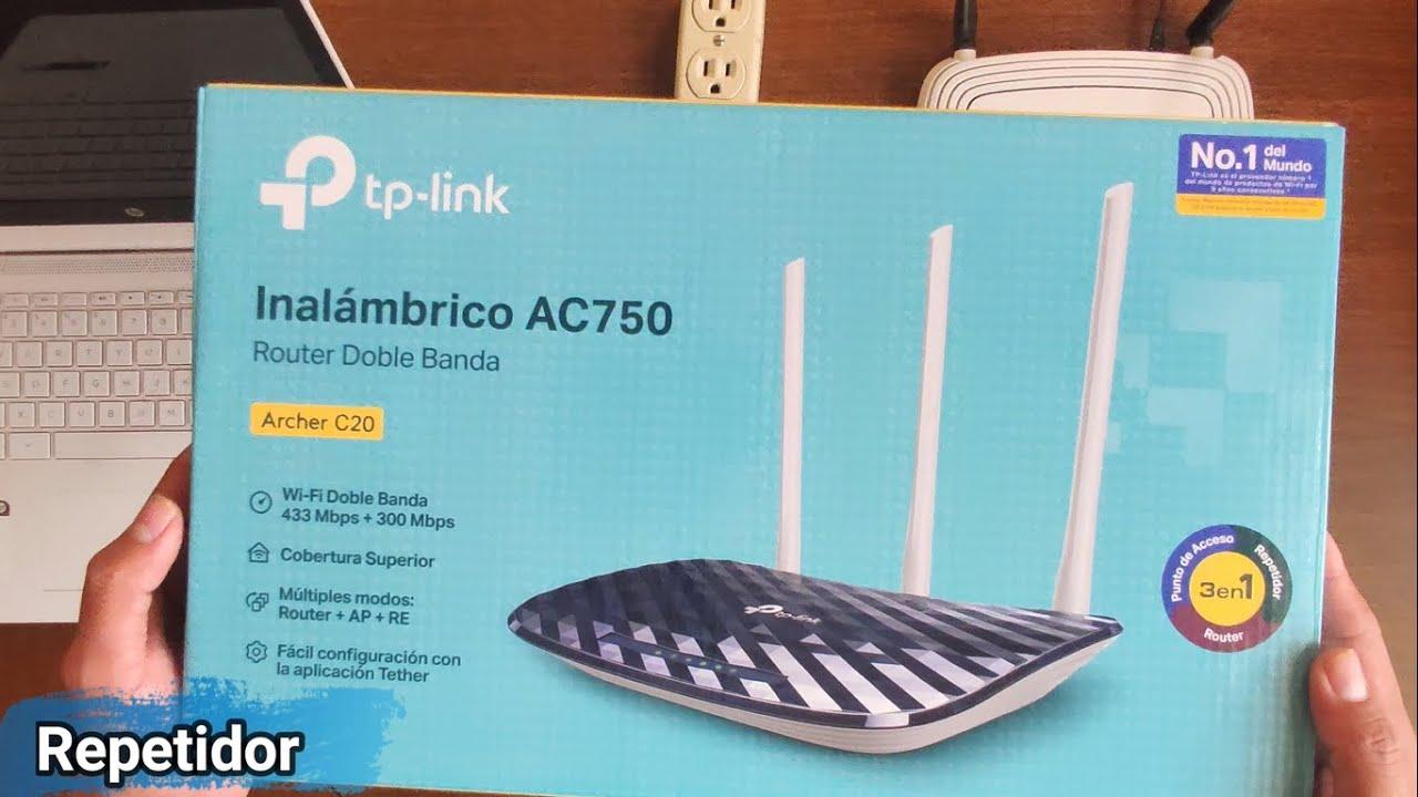 Como Configurar Router Tp-Link Archer C20 en Modo Repetidor Wifi (Paso a Paso)