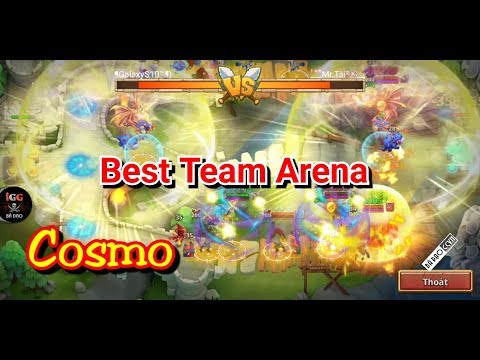 Best Team Arena Cosmo+Ronin - Team Top Sàn Đấu CCVN - Castle Clash Việt Nam