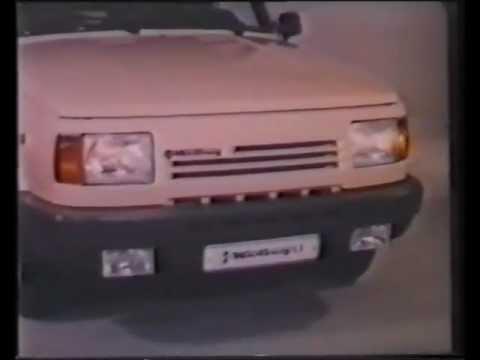IFA Wartburg 1.3 Commercial HUN VHS