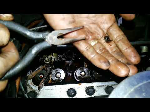TOYOTA 4K ENGINE VALVE SEAL REPLACEMENT W/O REMOVING THE CYLINDER HEAD