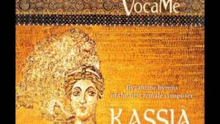 Kassia  Byzantine hymns of the first female composer of the Occident