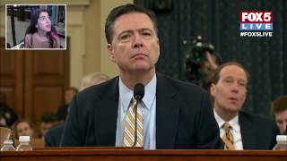 FOX 5 LIVE: Comey testifies before House Intelligence Committee, breaking news, live events