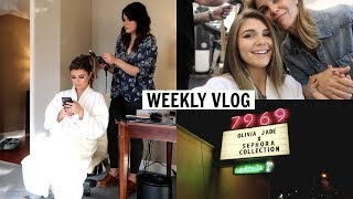 VLOG l work week of a 19 year old youtuber