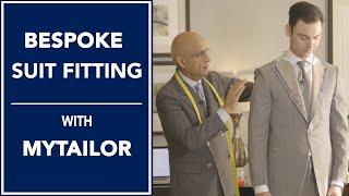 Bespoke Suit Fitting with Joe Hemrajani from MyTailor