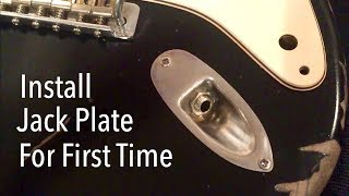 How to Install Strat Output Jack For The First Time - YouTubeYouTube