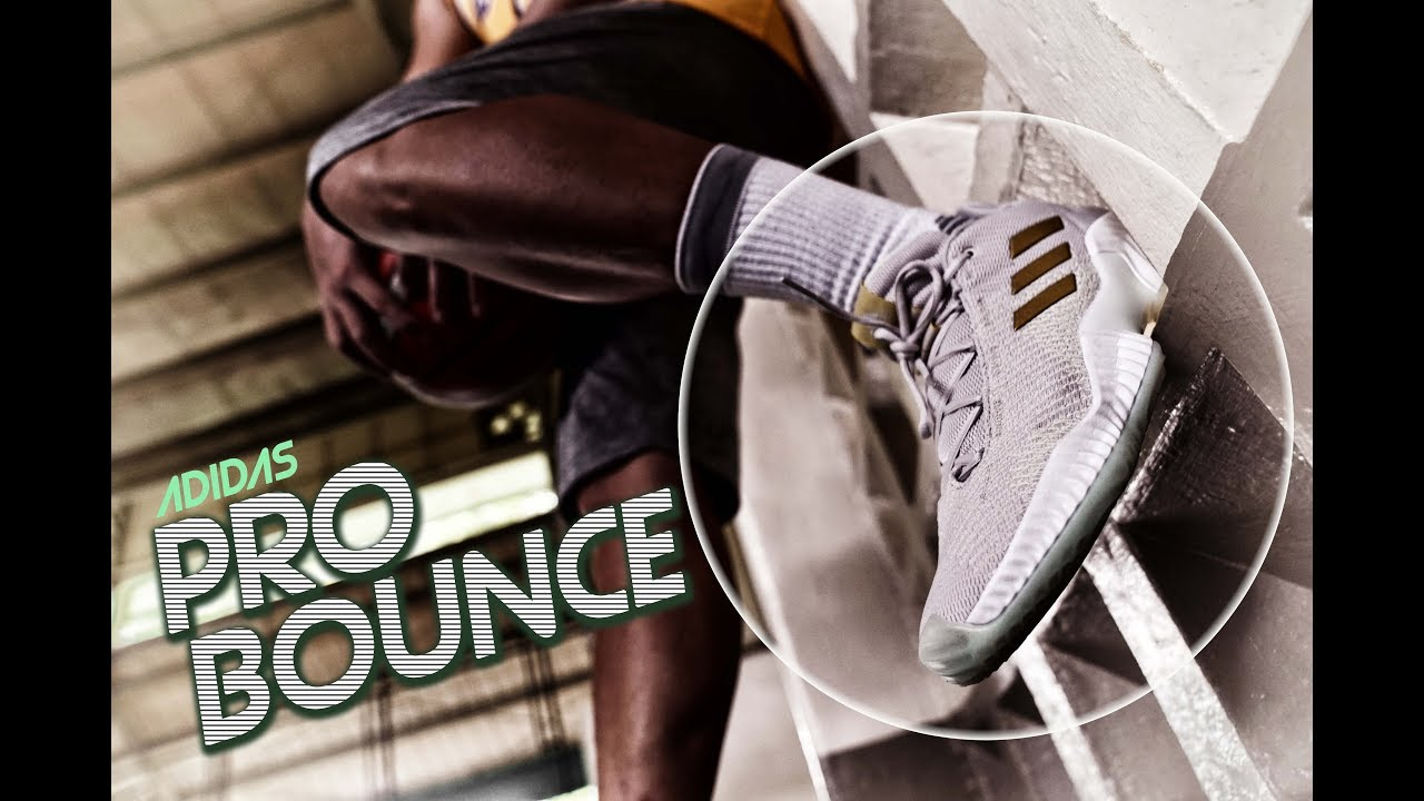 afe96bade Adidas PRO BOUNCE Full Performance REVIEW - YouTube