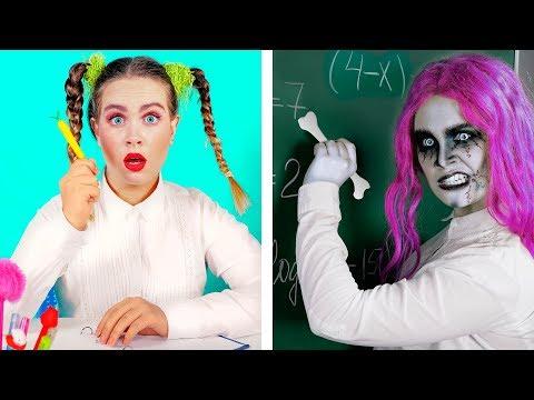 Zombie At School!   14 DIY Zombie School Supplies By Ideas 4 Fun