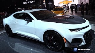 2018 Chevrolet Camaro ZL1 - Exterior  Interior Walkaround - 2017 New York Auto Show