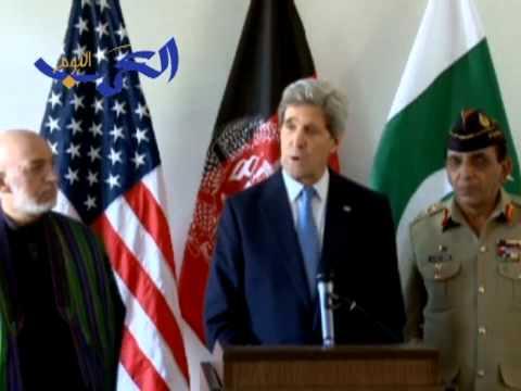 Kerry Meets with Karzai and Pakistani General Kayani