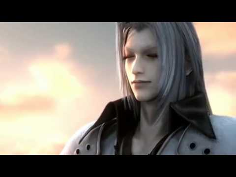 Final Fantasy VII Crisis Core  Sephiroth vs Genesis and Angeal Subtitle Indonesia