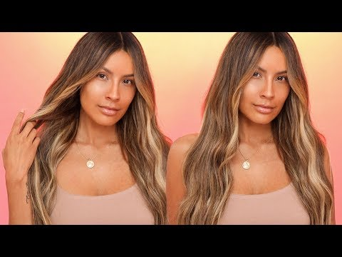 EFFORTLESS LOOSE WAVES HAIRSTYLE | DESI PERKINS
