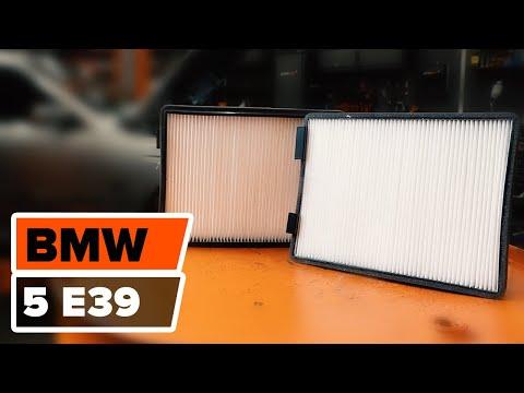 Hoe De Bmw 5 E39 Interieurfilter Vervangen Handleiding