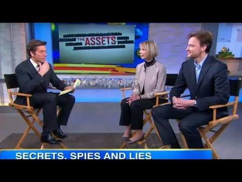 DAVID MUIR s Sandy Grimes and Paul Rhys from ABC Mini Series, The Assets.