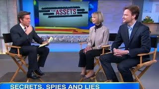 DAVID MUIR Interviews Sandy Grimes and Paul Rhys from ABC Mini Series, The Assets.
