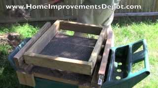 Sift Stones With A Do-it-yourself Dirt Sifter