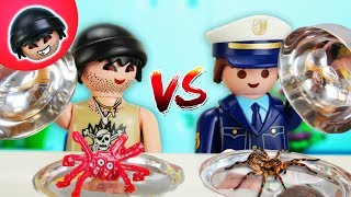 Playmobil Polizei Film - REAL FOOD vs. EKEL FOOD - Karlchen Knack #135