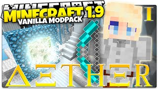 Minecraft 1.9 | AETHER | A Whole New Dimension... (Minecraft Custom Command Mod Pack)