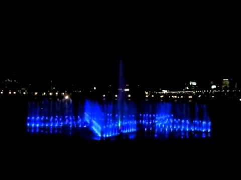 (20120417)_Musical Water Fountain in Hangang Park_Night Scene
