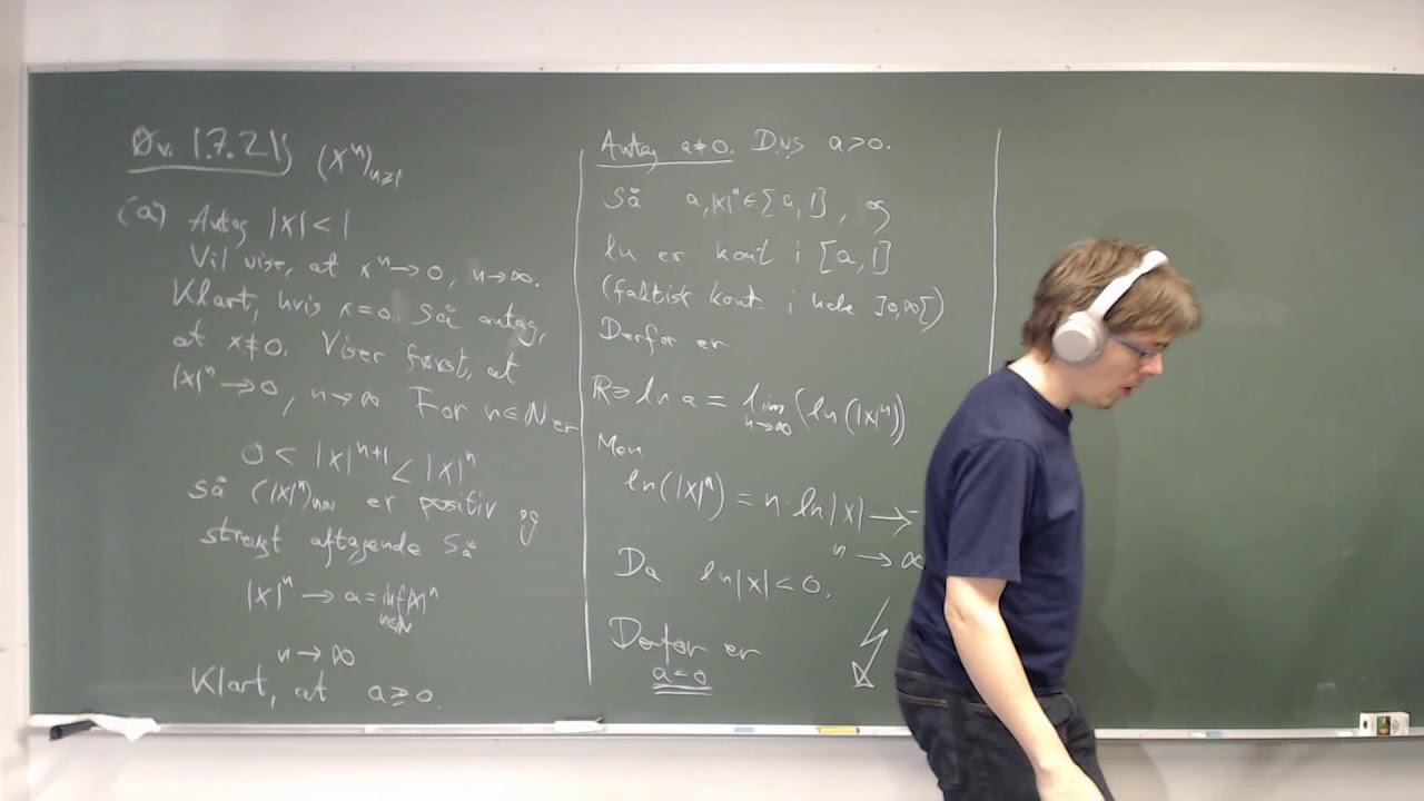 Metriske rum - 3.4 Talfølger, en øvelse og endnu et eksempel