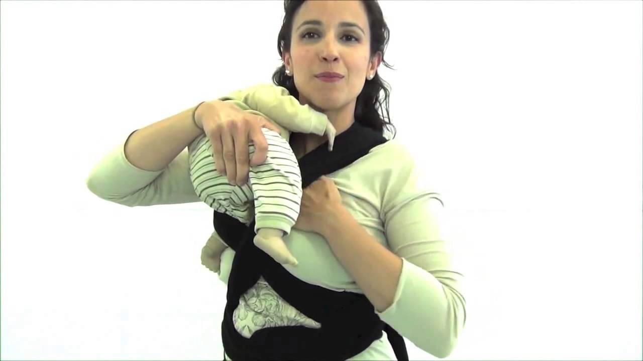 Iniciacion Al Porteo 1 2 Como Usar Tu Fular Baby Wrap Molto Youtube