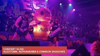 Concert Vlog: Alestorm, Aephanemer & Crimson Shadows (Toronto - Nov 8th, 2019)