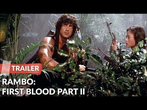 Rambo: First Blood Part II 1985 Trailer