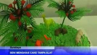 Cara Membuat Kue Tart..  Kursus Cake Decoration Di Akademi Tataboga Tristar. 085731804143