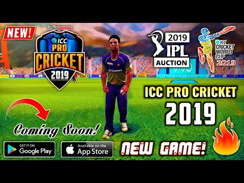 ICC Pro Cricket 2019 New! Game On Android | IPL Auction & World Cup 2019  Edition | Hindi