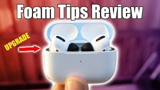 AirPods Pro Memory Foam Tips Are Surprisingly Good
