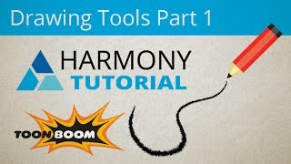 Toon Boom Harmony - Drawing Tools Part 1